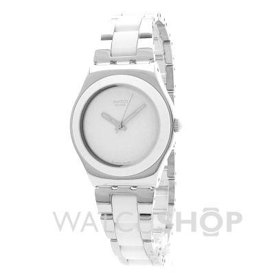 femmes swatch tresor blanc ceramic montre yls141gc. Black Bedroom Furniture Sets. Home Design Ideas