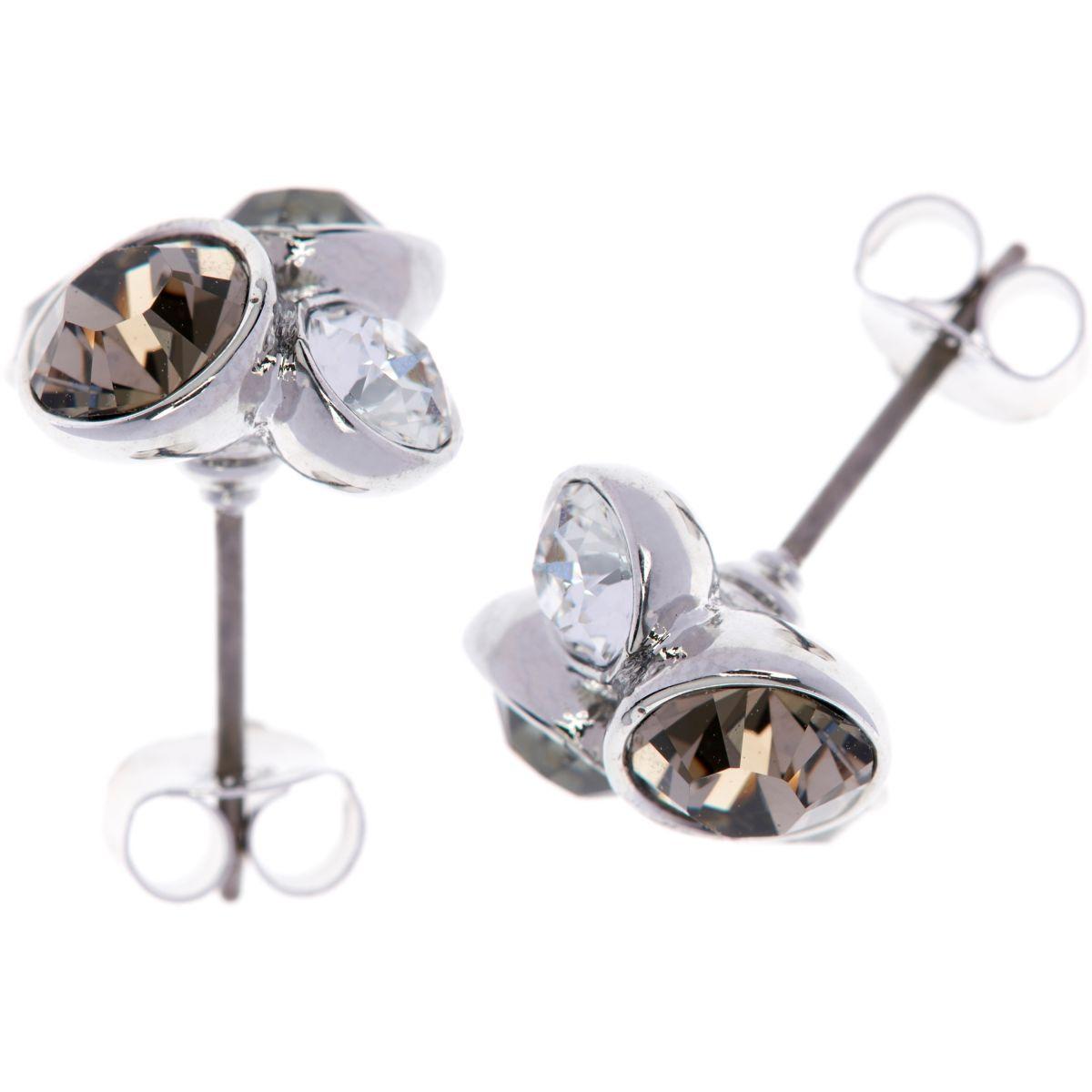 damen ted baker edelstahl lynda jewel cluster stud ohrring. Black Bedroom Furniture Sets. Home Design Ideas